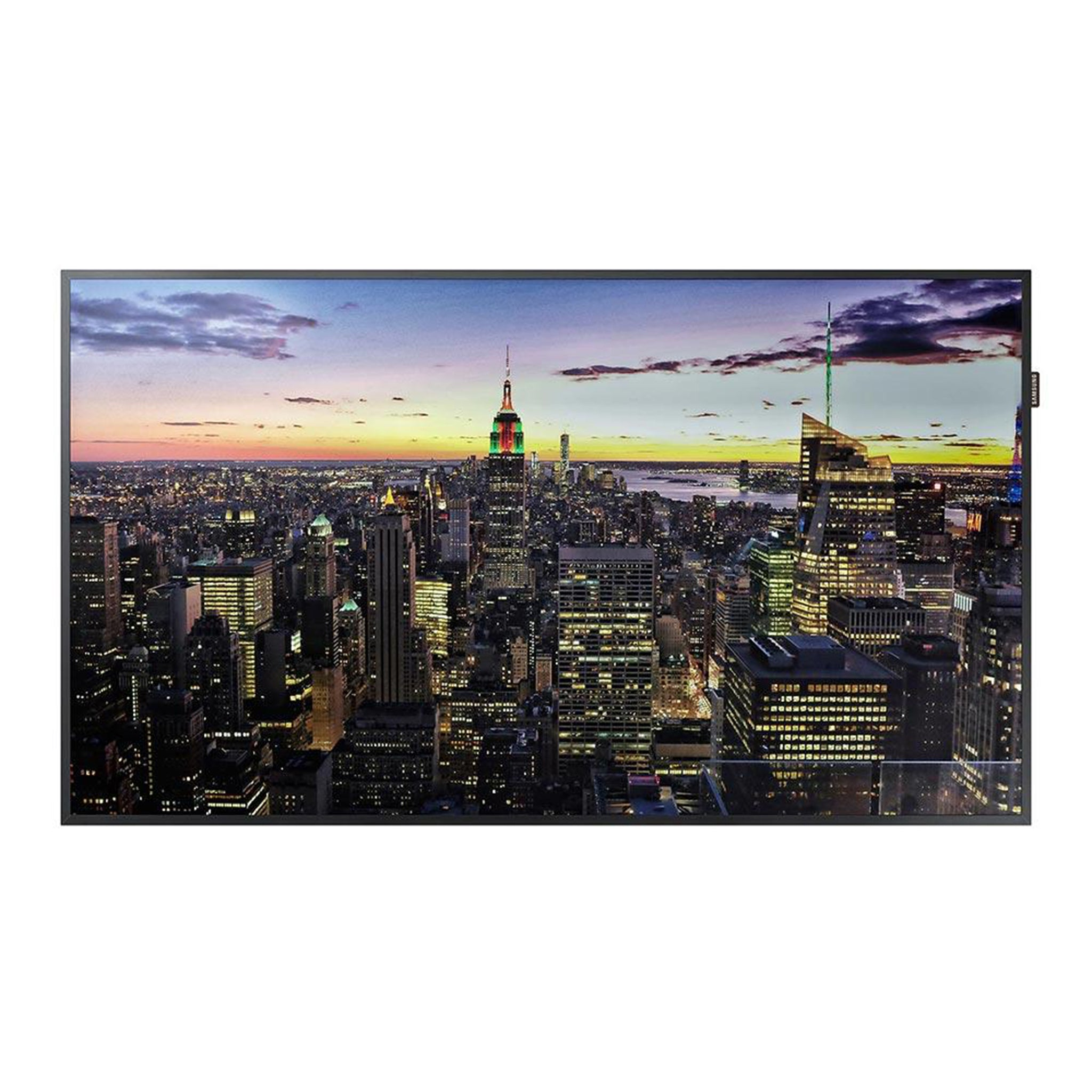"Samsung TIZEN-powered QBH Series UHD display - 65"" / 75"""