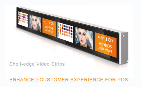 Shelf Edge Video Strips