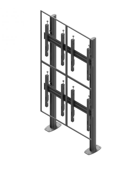 Edbak Video Wall stand 2x2 Portrait 50-57""