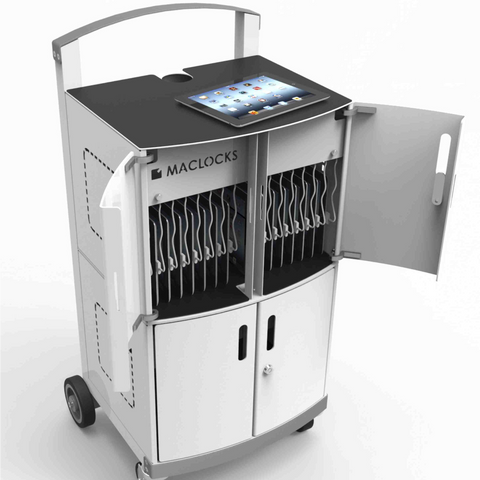 CartiPad Duo - 32 Unit Charging Cart