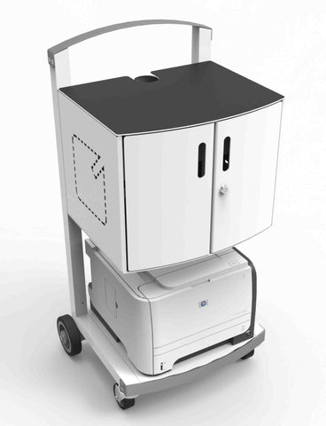 CartiPad Uno - 16 Unit Charging Cart