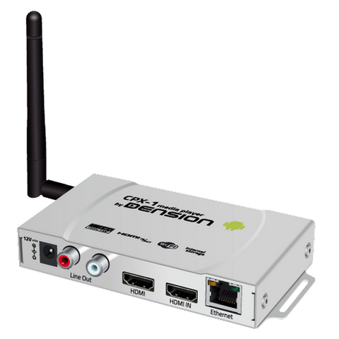Dension MPX-1 Full HD Linux-based Digital Signage Player with HDMI Input