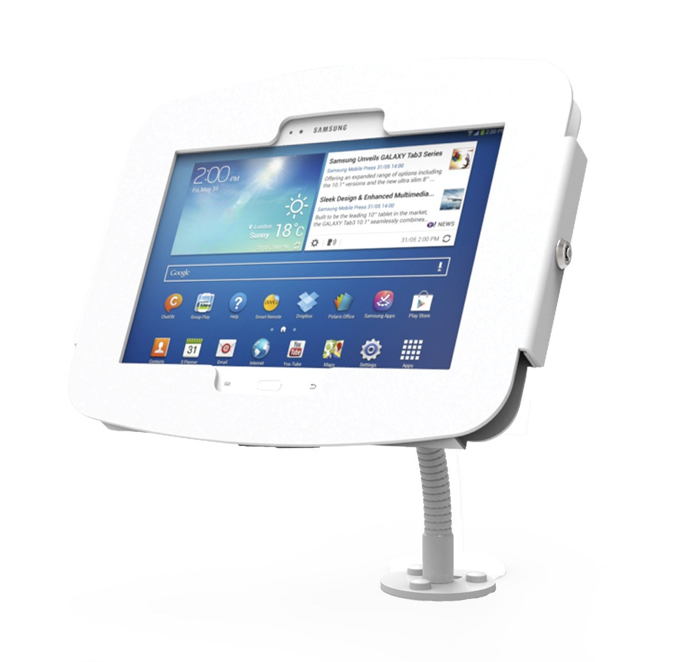 Galaxy Tab laikiklis Compulocks Flex Arm Wall Mount