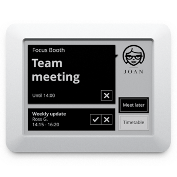 JOAN 6 - meeting room display, touch, with battery