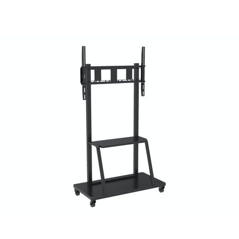 Mobile stand for large TV LCD/LED/Plasma 55-100 150kg VESA shelf