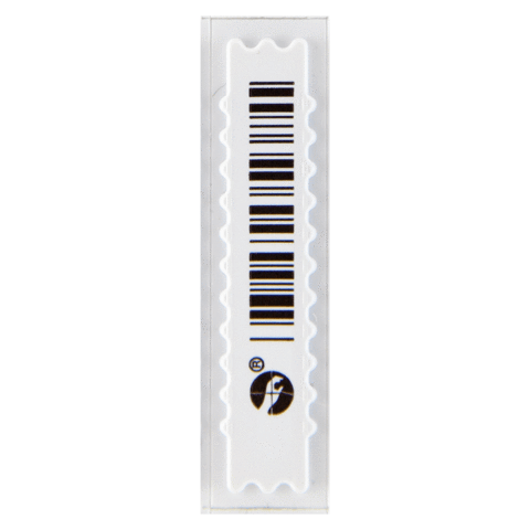 SENSORMATIC AM AP LABELS BARCODE WHITE - 5000 PCS. BOX