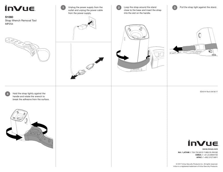 INVUE STRAP WRENCH REMOVAL TOOL