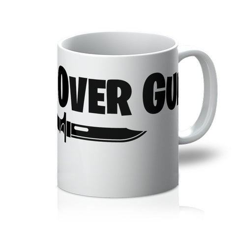 Knives Over Guns Mug - That Tech Shop