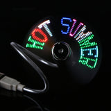 LED Programmable USB Fan - That Tech Shop