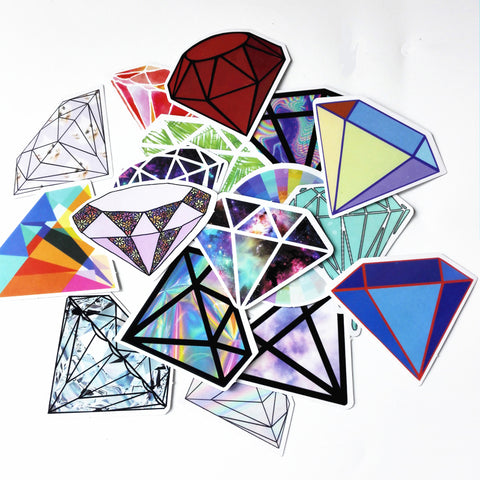 18Pcs Diamond Sticker Pack - That Tech Shop