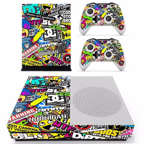 StickerBomb Xbox One Slim - That Tech Shop