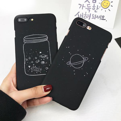 Black Space IPhone Case