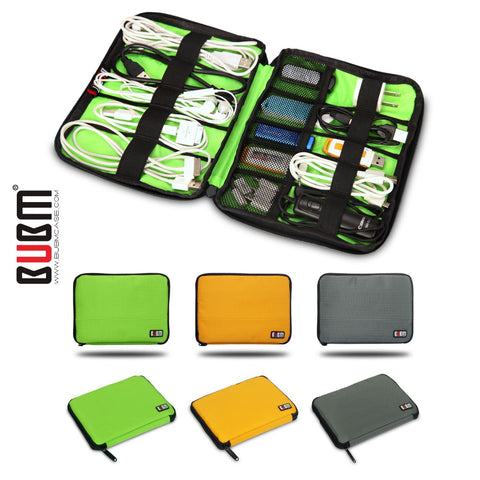 BUBM USB Cable Organizer Travel Carry Case - That Tech Shop