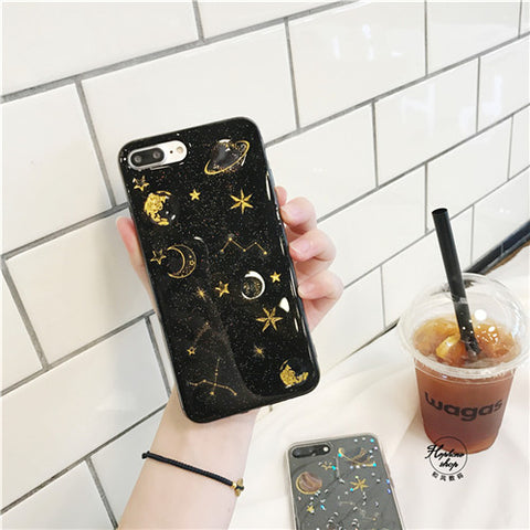 Glitter Space Phone Case - That Tech Shop