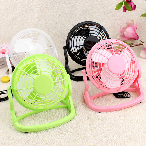 "4"" USB Desk Fan - That Tech Shop"