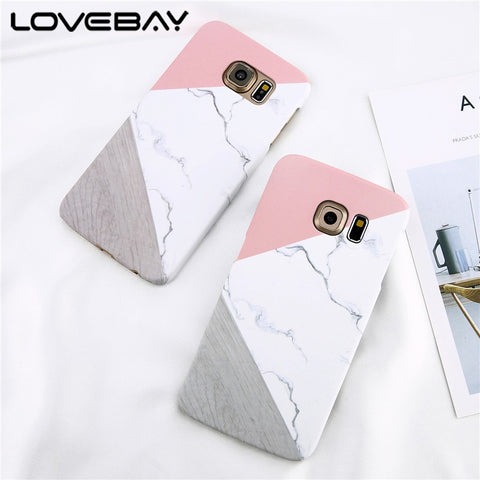 Loveabay Marble Phone Case For Samsung Galaxy