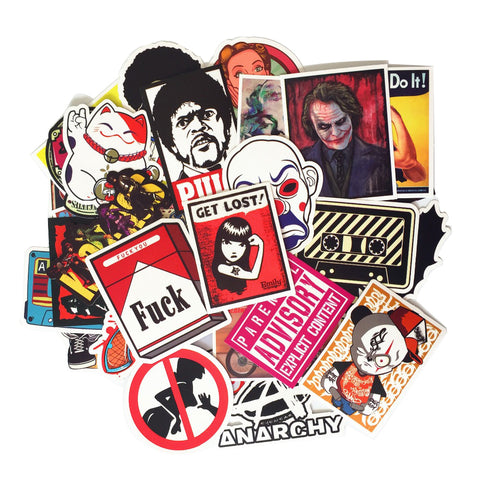 50 Random Sticker Pack - That Tech Shop