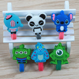 Cartoon Character Cable Clip - That Tech Shop