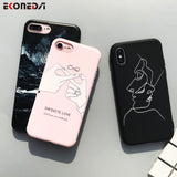 EKONEDA Soft TPU Phone Case For iPhone