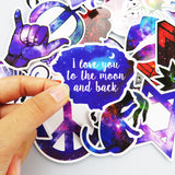 Galaxy Style Sticker Pack (50 pcs) - That Tech Shop