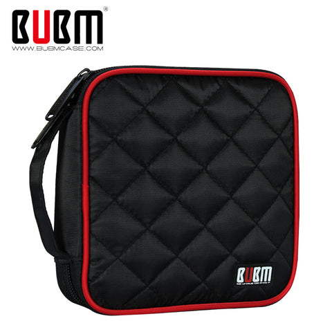 BUBM Padded 32 pcs CD DVD Carrying Case - That Tech Shop