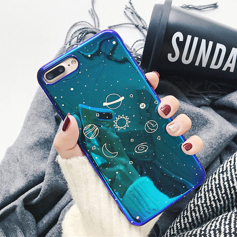 LOVECOM Cool Universe Planet Phone Case For iPhone