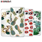 EKONEDA Soft TPU Case For Samsung