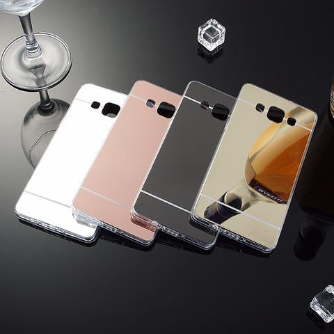 Luxury Mirror Samsung Phone Case