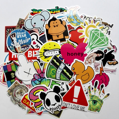 50pcs Random Mixed Sticker Pack - That Tech Shop