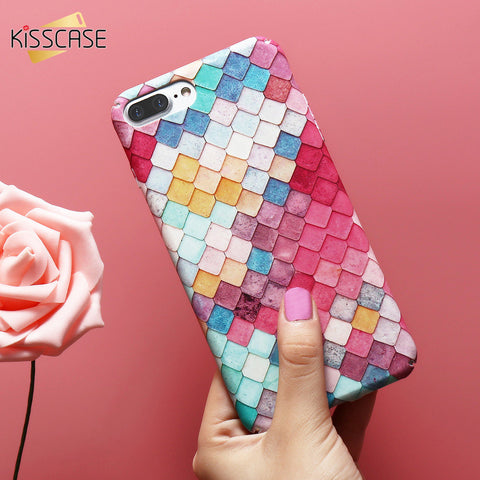 KISSCASE For iPhone 6 Case 3D Scales