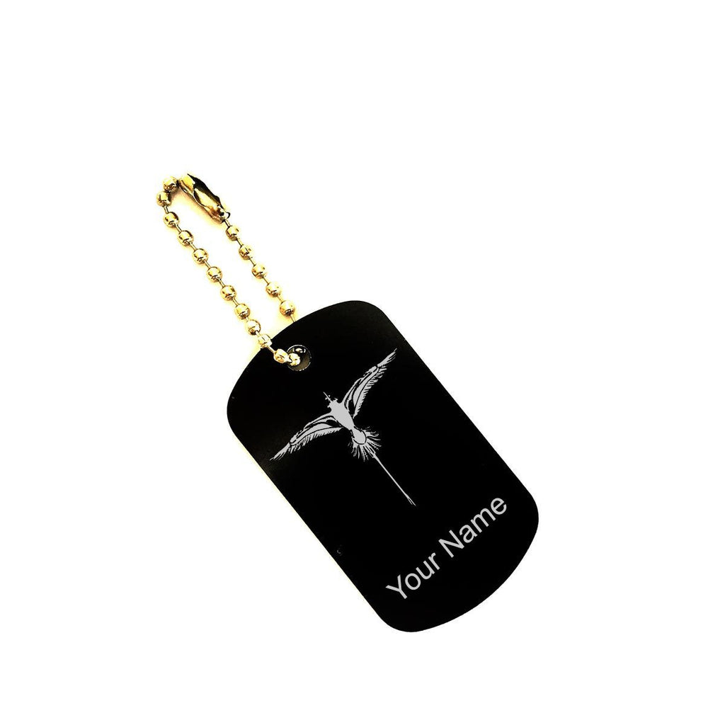 Personalized Bermuda Longtail Dogtag Keychain