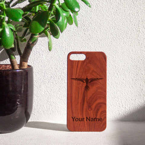 Personalized Rosewood iPhone Case Engraved With A Bermuda Longtail for $0.22 at Feel The Sea Sailing