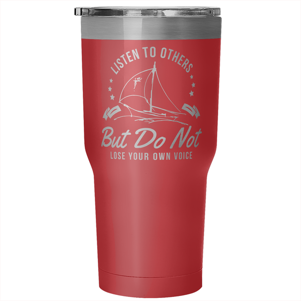 30 Ounce Vacuum Tumbler - Your Voice