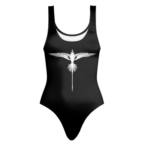 Bermuda Longtail One Piece Swimsuit in Black