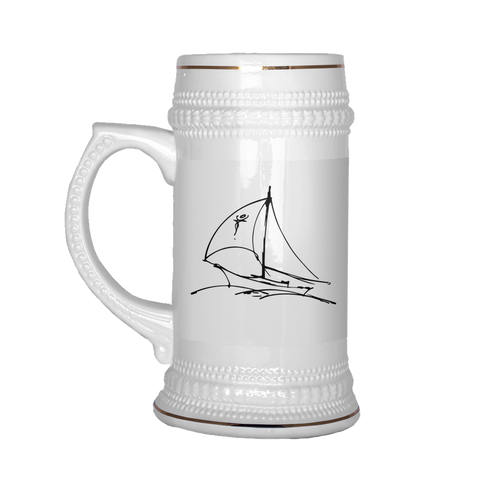 Sails Out At Sea Stein for $0.30 at Feel The Sea Sailing
