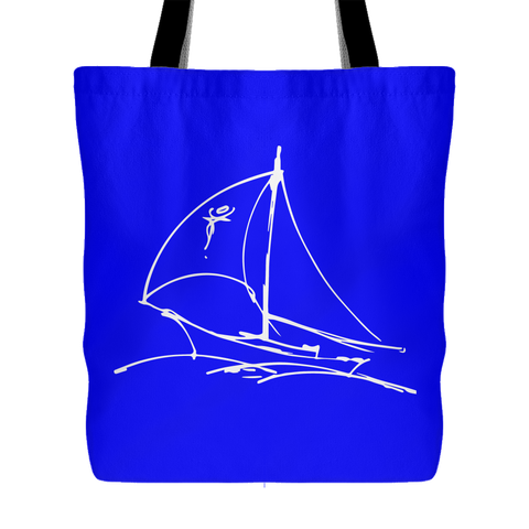 Sailboat Tote Bag for $0.25 at Feel The Sea Sailing