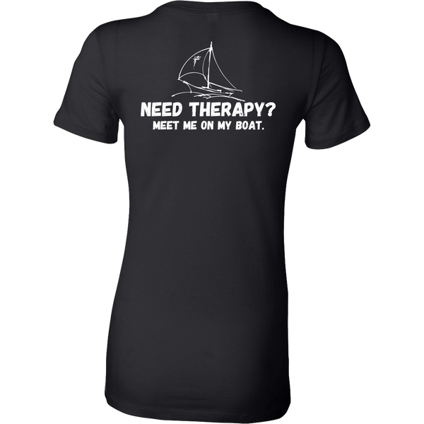 Go Sailing For Therapy - Slim Fit