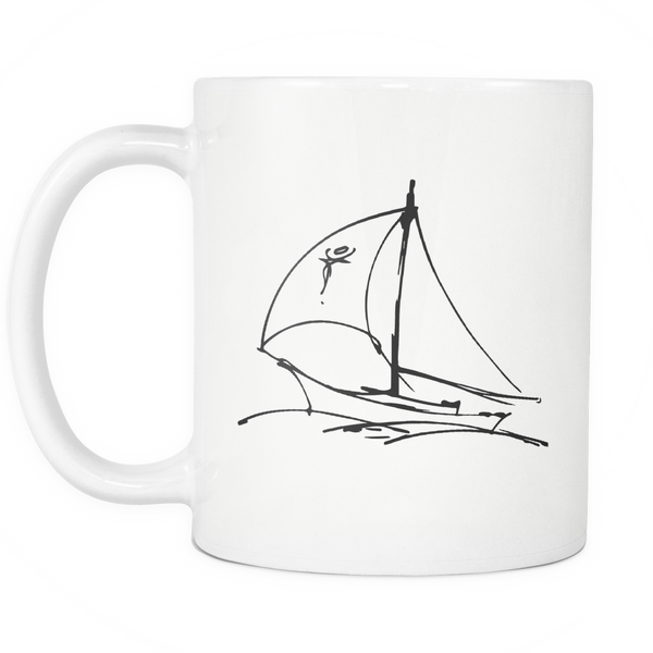 Sails Out At Sea Coffee Mug for $0.13 at Feel The Sea Sailing