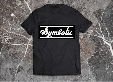 Symbolic Culture Black on Black Tshirt