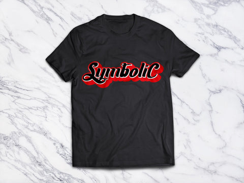 Symbolic Clothing Red and Black Tshirt