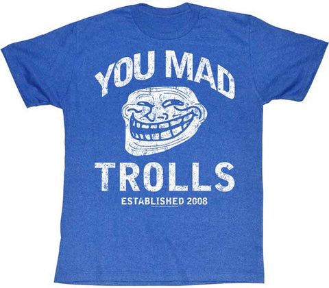 American Classics    Item#: YM5155 Group: YOU MAD YOU MAD TROLLS MENS TEE