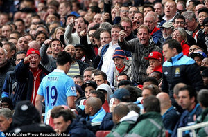 Arsenal and Manchester City fans clash outside Wembley Stadium!