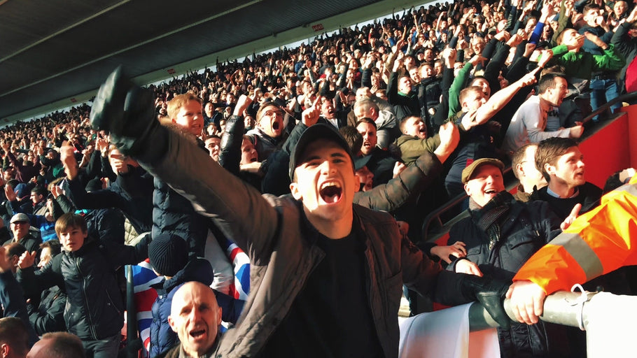 Top 5 away days in the football league...