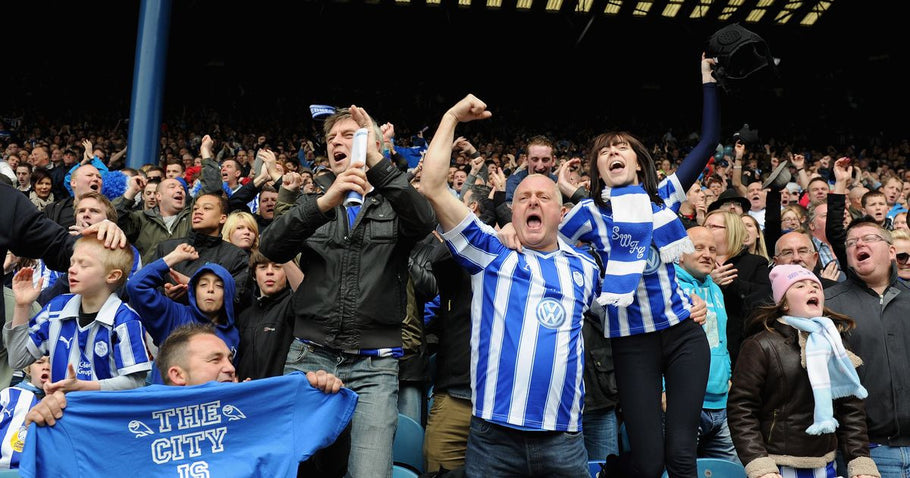 Sheffield Wednesday fans having a dig at Leeds United