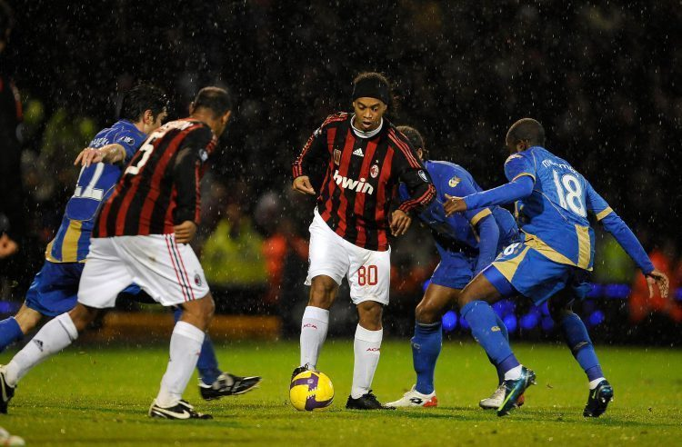 The Day AC Milan Went to Fratton Park...