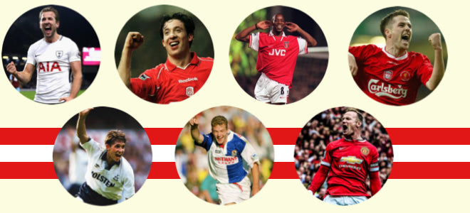 THE TOP THREE ENGLISH STRIKERS OF THE LAST 30 YEARS