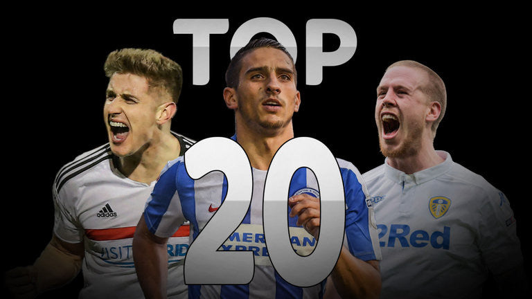 Top 20 Championship players 2016/2017