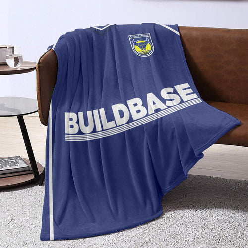 Oxford United 2005 Away Blanket Throw-Blanket-The Terrace Store