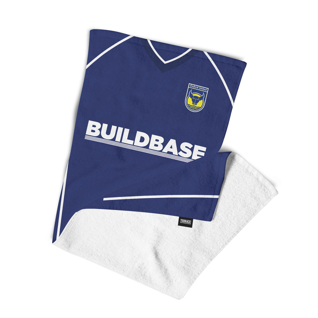 Oxford United 2005 Away Towel-Towels-The Terrace Store