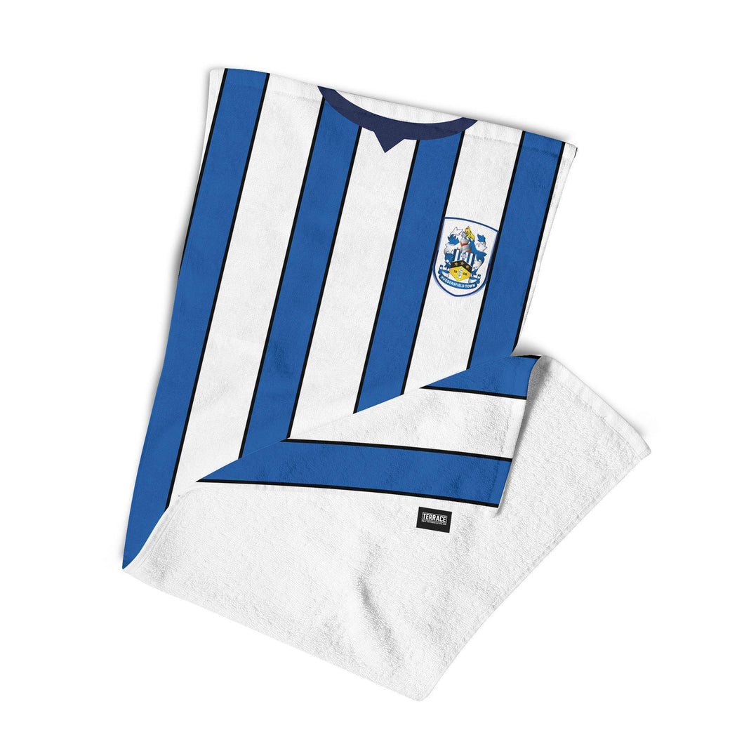 Huddersfield Town 19-20 Home Beach Towel-Towels-The Terrace Store